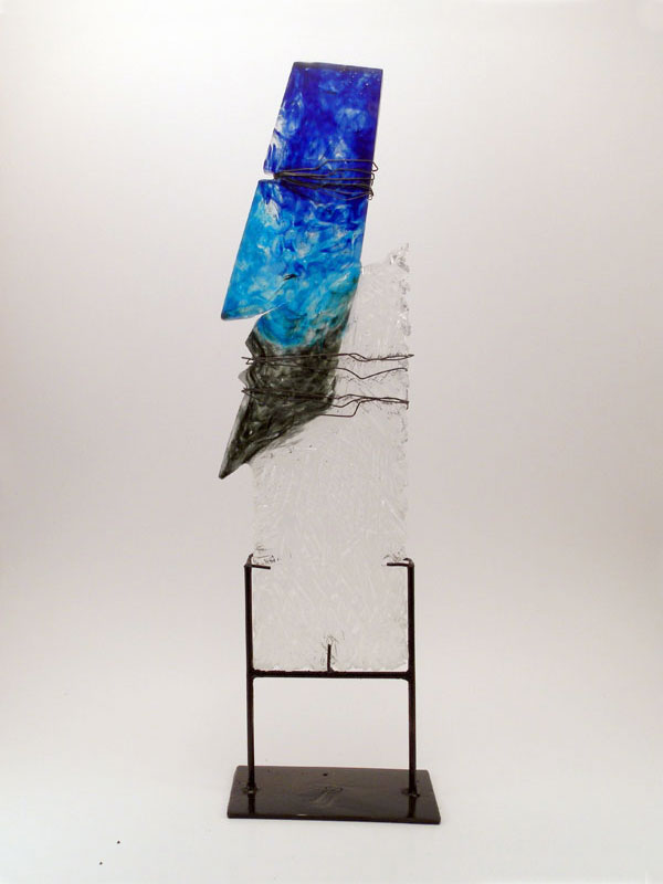 contemporary glass sculpture
