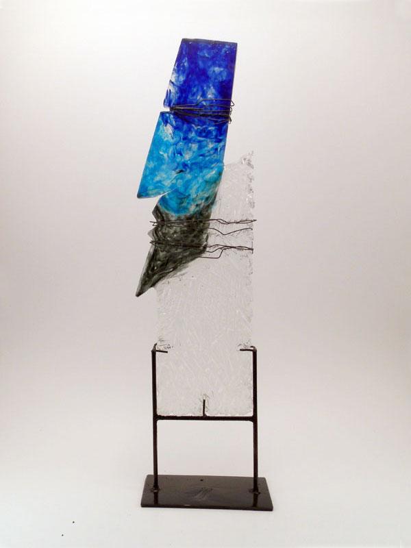 contemporary glass sculpture